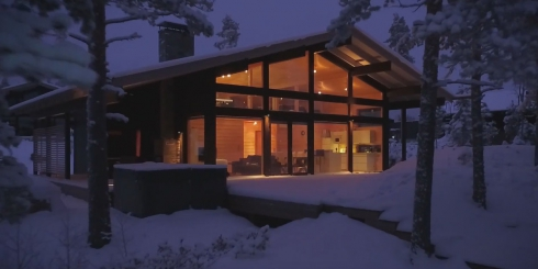 Polar Life Haus project in Finland | Naava Resort